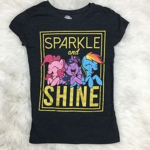 my little Pony L sparkle shine girls tshirt